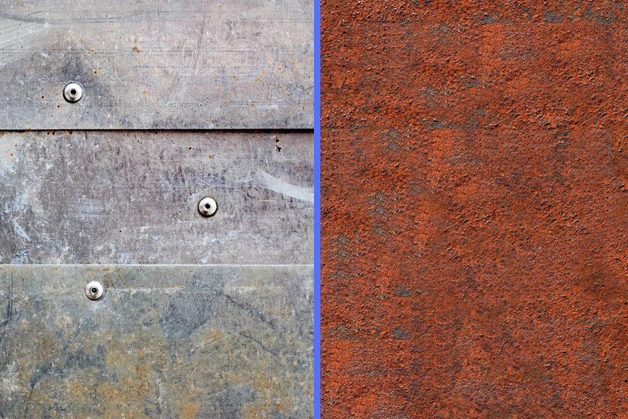Difference between corrosion and rusting.
