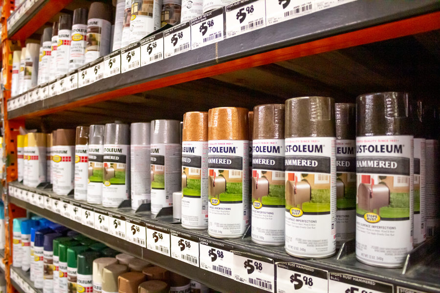 Can you use Rust-Oleum on Wood