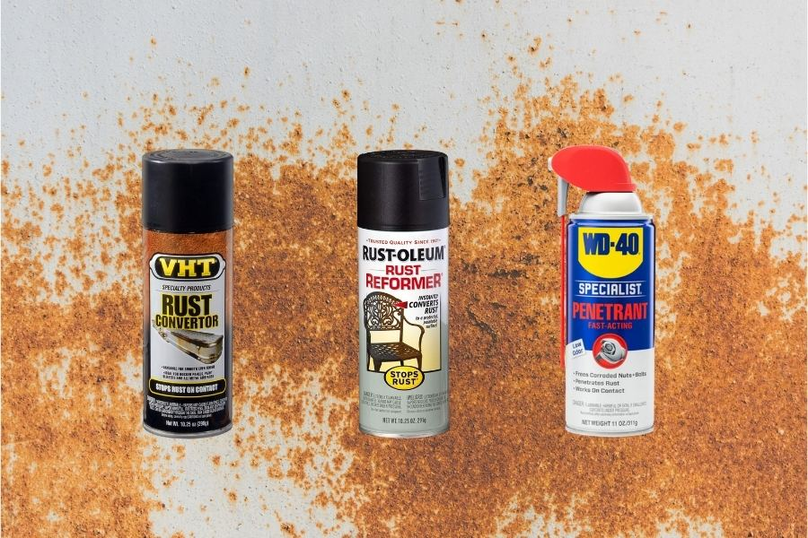 Best rust remover sprays on the market.